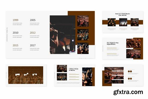 Concerts - Powerpoint Google Slides and Keynote Templates