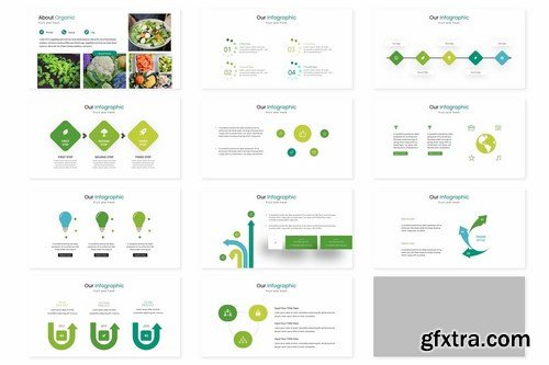 Vegetables - Powerpoint Google Slides and Keynote Templates