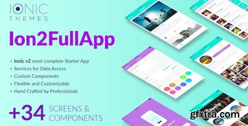 CodeCanyon - Ion2FullApp v1.1.3 - Full Ionic Template for Ionic 3+ - 20312002