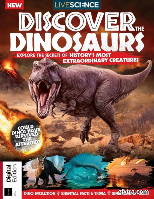 How It Works: Discover the Dinosaurs - First Edition 2019