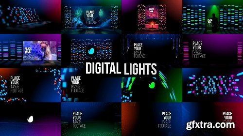 Videohive Background Lights 25005084