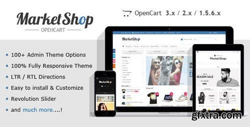 ThemeForest - MarketShop v2.12 - Multi-Purpose OpenCart Theme - 6913803