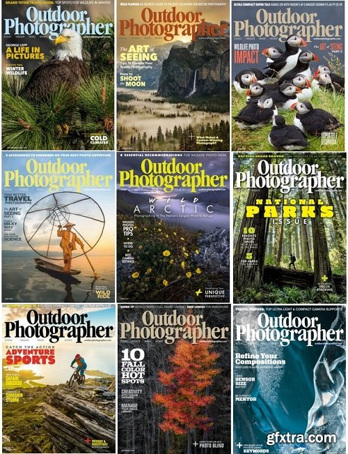 Outdoor Photographer - 2019 Full Year Issues Collection
