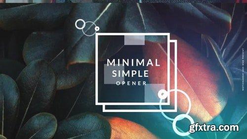 MotionArray Minimal Simple Opener 324734
