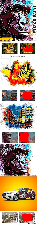 GraphicRiver - Vector Paint Photoshop Action 24755197