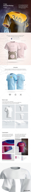 GraphicRiver - T-Shirt Animated Mockup 24720128