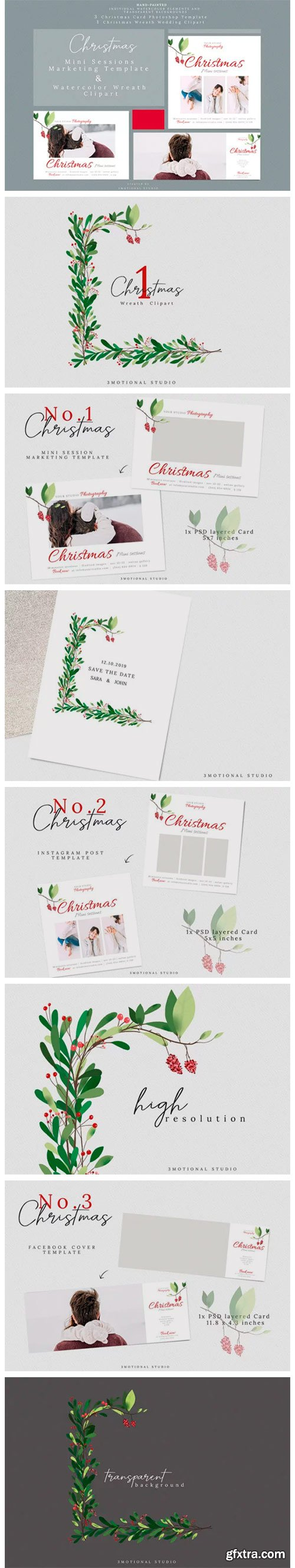 Holiday Mini Sessions Marketing Template 2020095