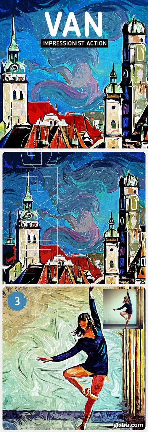 GraphicRiver - VAN - Impressionist Painting Action 24971875
