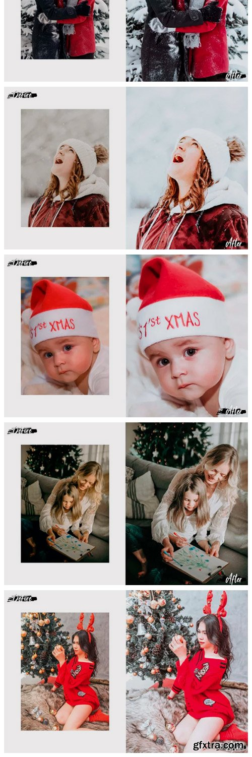 05 Merry Xmas Photoshop Actions, ACR LUT 2028805