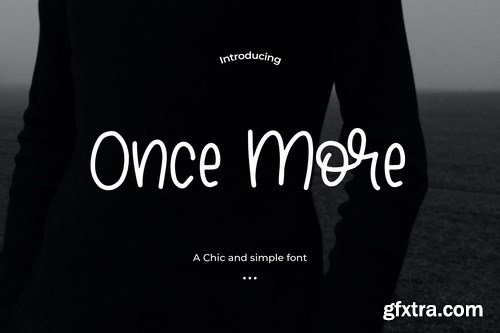 Once More - A Chic and simple font