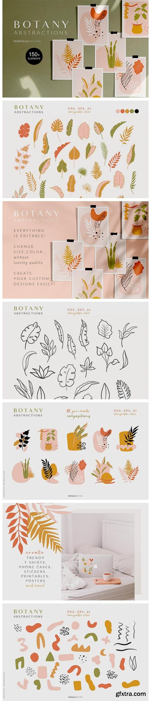 CM - Botanical Abstract Collection 4158513