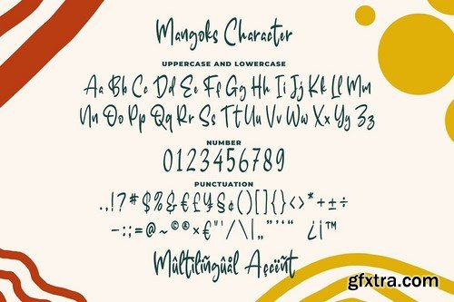 The Mangoks - Cute Handwritten Font