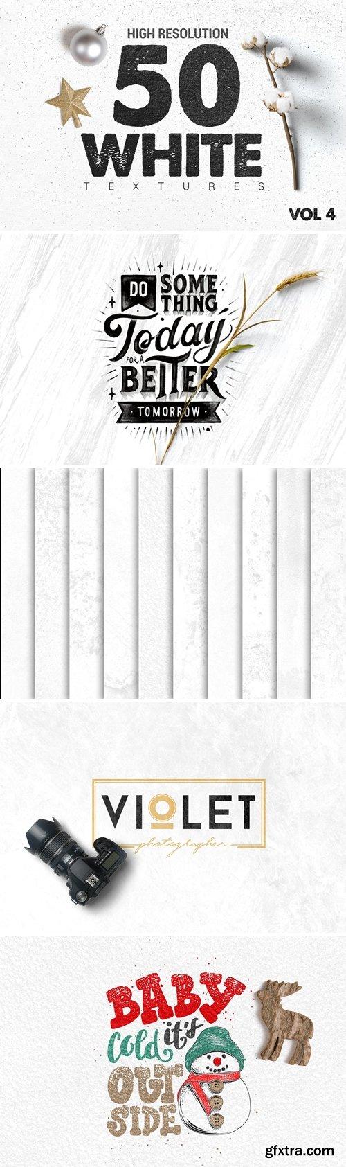 Bundle White Textures Vol4 x50