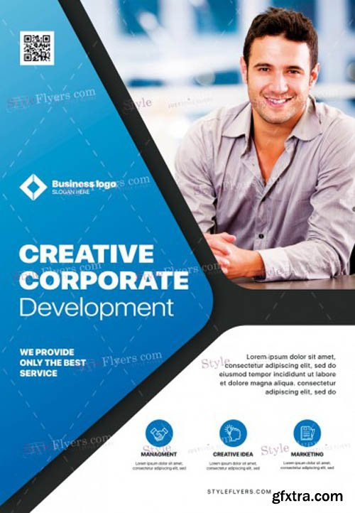 Corporate V1711 2019 PSD Flyer Template