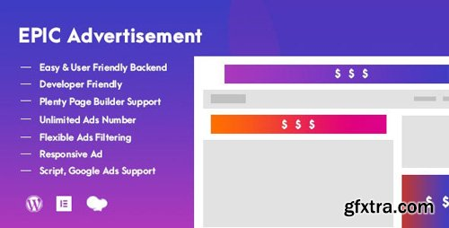 CodeCanyon - Epic Advertisement v1.0.0 - WordPress Plugin & Add Ons for Elementor & WPBakery Page Builder - 25078294