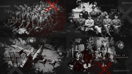 Videohive - Ink Bleed History Opener / World War Credits / Significant Events of Past / Old Retro Chronicle