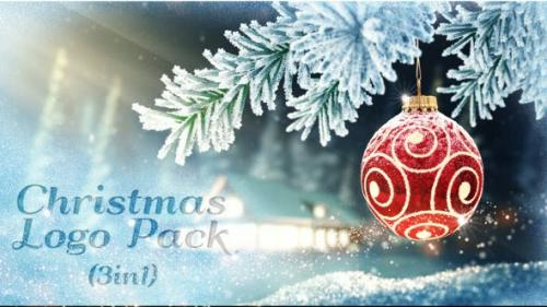 Videohive - Christmas Logo Pack 3 in 1