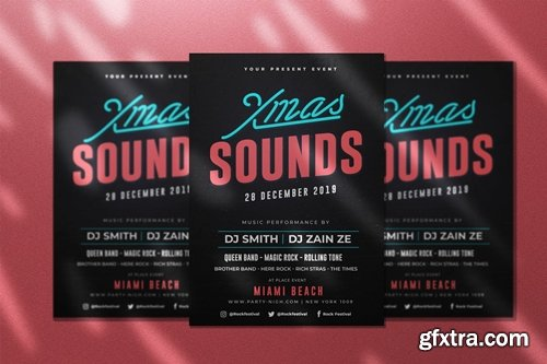 Xmas Sound Flyer