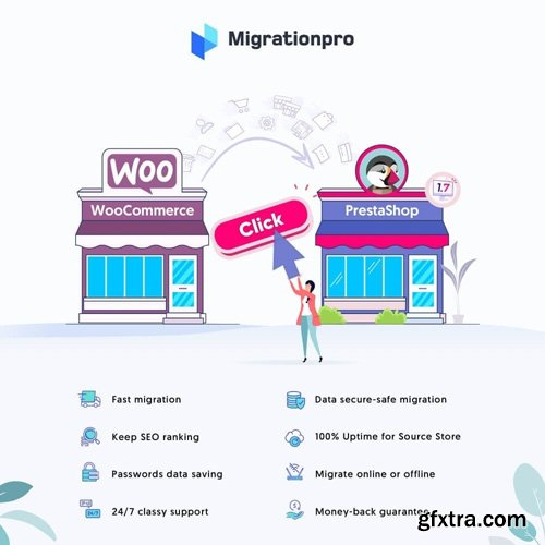 MigrationPro v5.1.3 - WooCommerce to PrestaShop Migration Tool Module