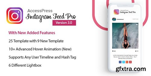 CodeCanyon - AccessPress Instagram Feed Pro v3.0.8 - WordPress Responsive Instagram Feeds Plugin - 14291754