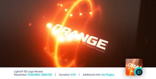 Videohive - LightUp 3D Logo Reveal