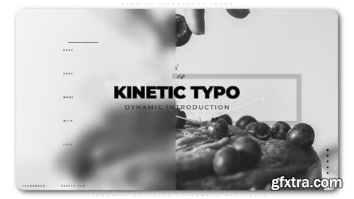 VideoHive Kinetic Typography Intro 25081072