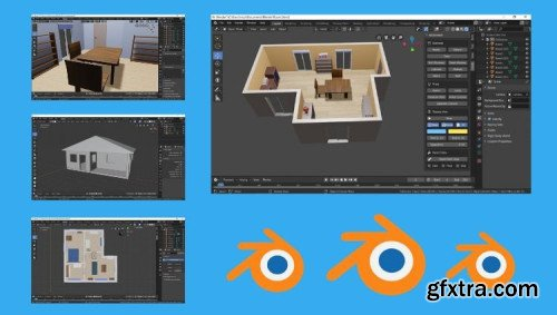 Blender 2.8 for interior design and architecture