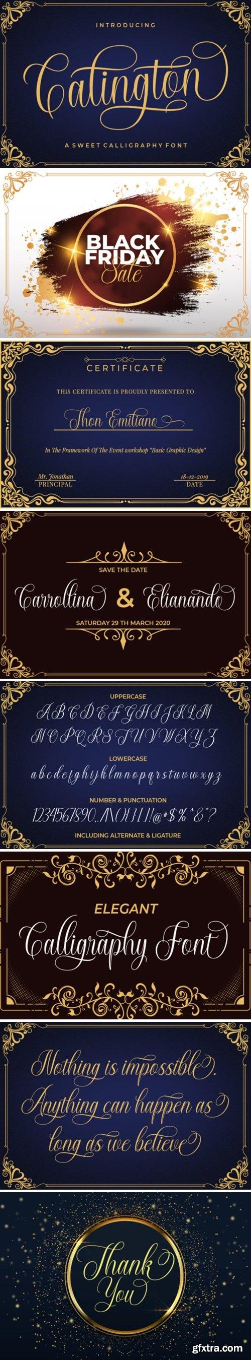 Calington Font