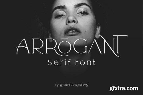 CM - Arrogant Font 4270503