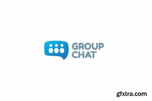 Group Chat Logo Template