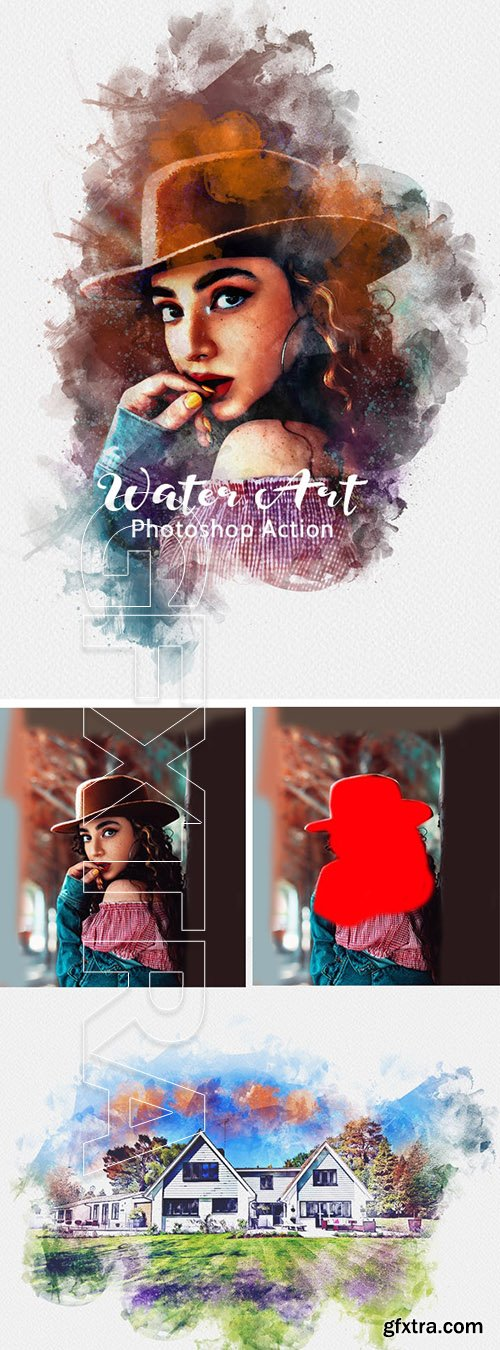 GraphicRiver - Water Art Photoshop Action 24972587