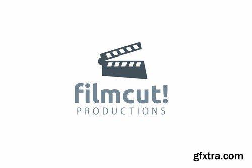 Film cut logo template