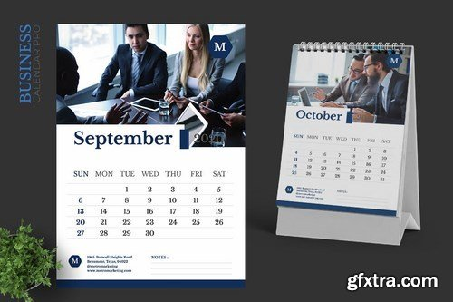 2020 Marketing Business Calendar Pro