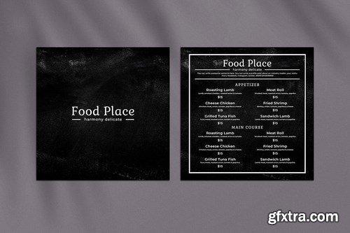 Blackboard Square Food Menu. 02