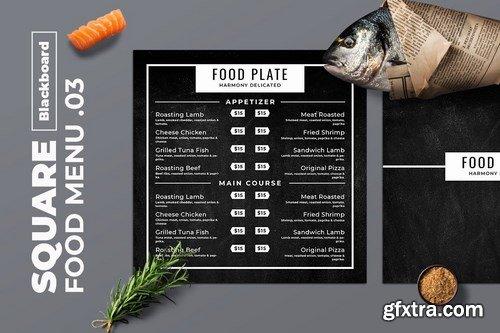 Blackboard Square Food Menu. 03