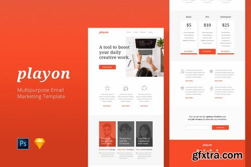 Playon - Email Newsletter Template