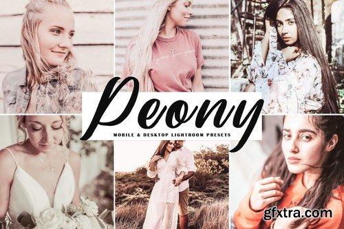 Peony Mobile & Desktop Lightroom Presets