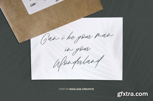 Aklay - Handwritten Font