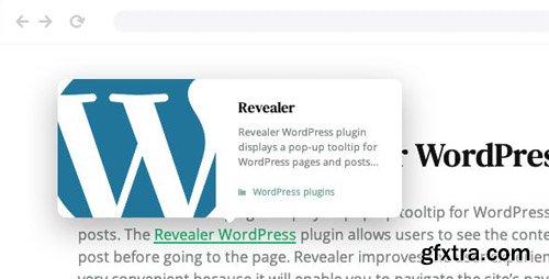 CodeCanyon - Revealer v1.0.2 - Navigation popup for WordPress links - 24484963