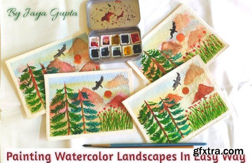 Painting Watercolor Landscapes In Easy Way