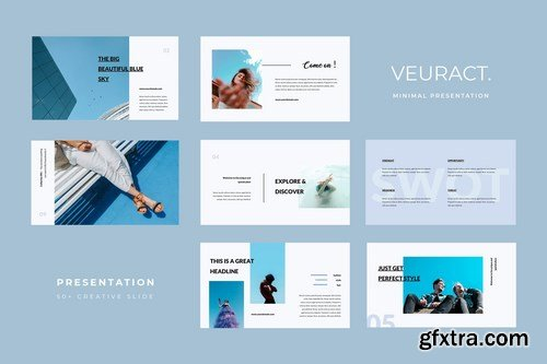 Veuract - Powerpoint Google Slides and Keynote Templates