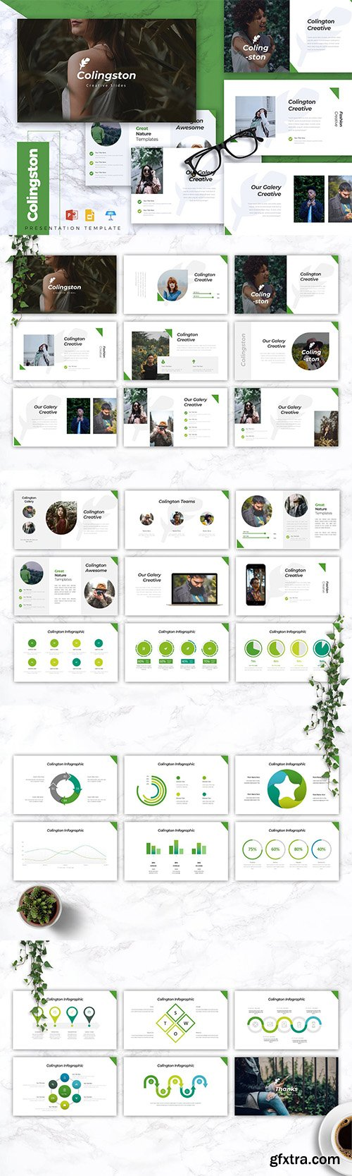 COLINGTON Creative Powerpoint/Google Slide/Keynote