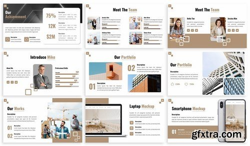 Arc - Architecture Powerpoint Template