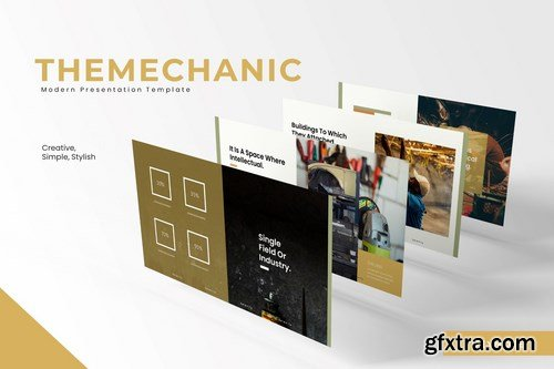 The Mechanic - Powerpoint Google Slides and Keynote Templates