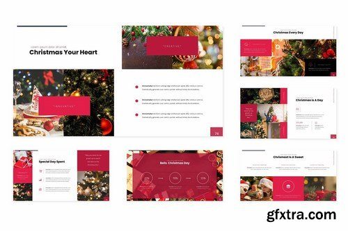 Christmas - Powerpoint Google Slides and Keynote Templates