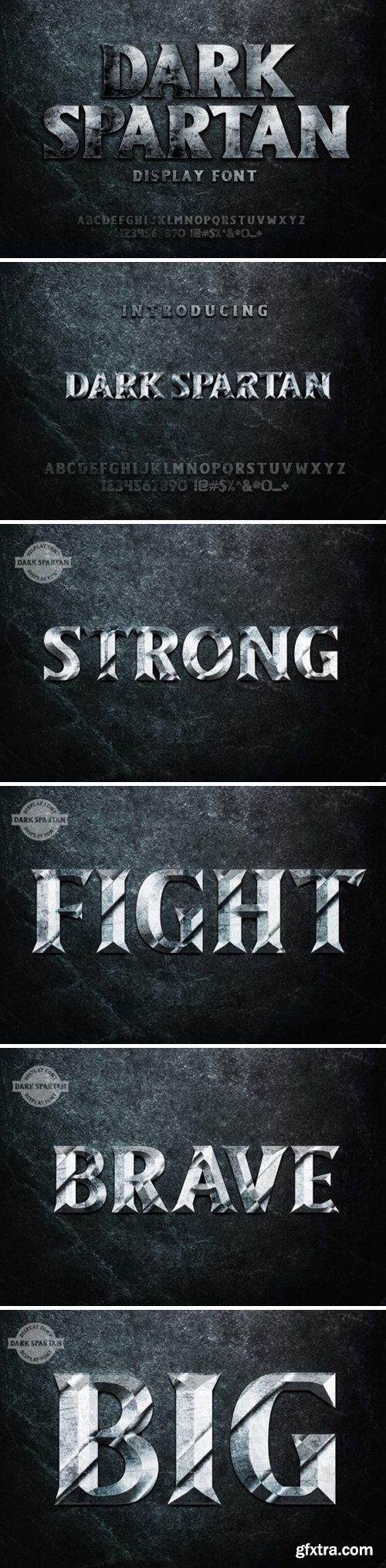 Dark Spartan Font