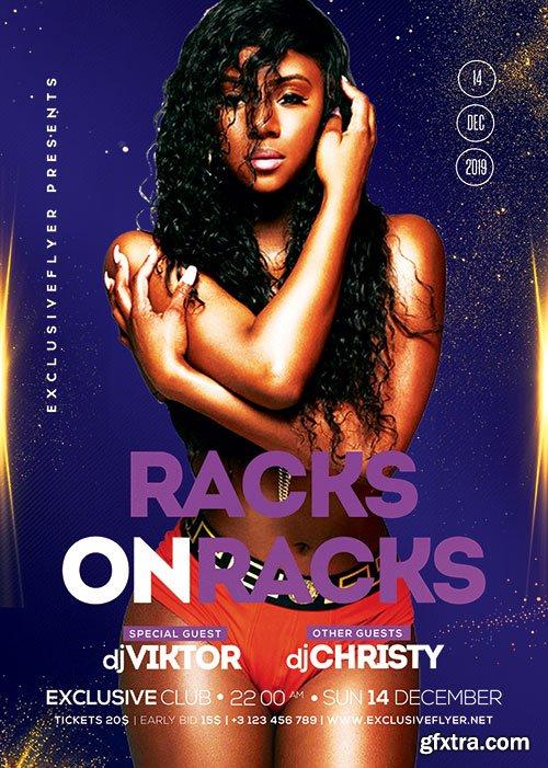 Racks on racks - Premium flyer psd template