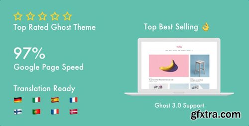 ThemeForest - Nubia v1.4.0 - Blog and Magazine Ghost 3.0 Theme - 21076246