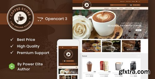 ThemeForest - Coffee v1.0 - Opencart Responsive Theme (Update: 9 November 2017) - 9878162