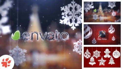 Videohive - Christmas Greetings Intro